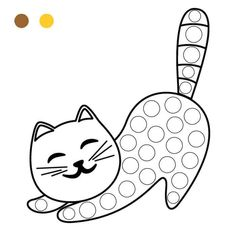 Free Easter Coloring Pages, Cartoon Coloring Pages, Coloring Books, Kids Learning Activities, Motor Activities, Finger Painting, Dot Painting, All About Me Preschool, Do A Dot