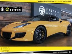 Freeman Motor Company can help you find the perfect 2018 Lotus Evora 400 in Portland Oregon today! Lotus Car, Lotus Auto, British Sports Cars, Motor Company, Car Detailing, Used Cars, Cars For Sale, Portland, Vehicles