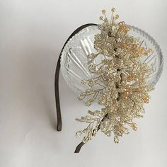 Inspirational jewelry Silver wedding headpiece Bridal tiara