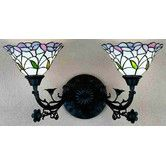Found it at Wayfair - Daffodil Bell 2 Light Wall Sconce
