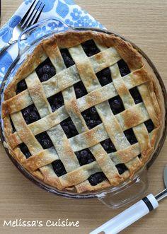 Melissa's Cuisine: Blueberry Pie *Combine with Tims chocolate blueberry pie recipe!!*