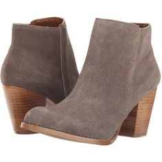 Seychelles Clavichord (Taupe Suede) Women's Boots ($143) ❤ liked on Polyvore…