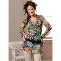 Quirky Tunic Blouse - Large Size Clothing and Maternity Wear - www.plussizedglamour.co.uk