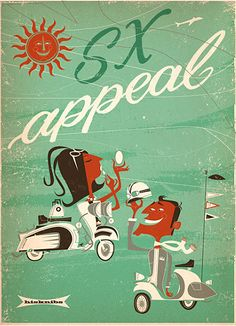 SX appeal Lambretta Poster