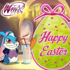 Happy Easter from Winx club