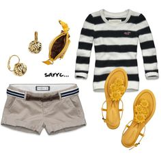 Outfit - I want to rock shorts, but I wouldn't do that to everyone.