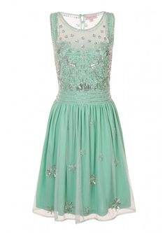 Serena embellished gem dress mint - Dresses - Clothing I know its a short one but I like!