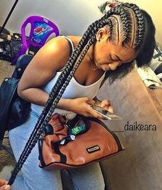 "2,796 Likes, 13 Comments - VoiceOfHair (Stylists/Styles) (@voiceofhair) on Instagram: ""Love these feed in braids @trenceriadelflow So neat #voiceofhair"""