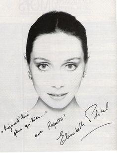 Elisabeth Platel (A prima ballerina (etoile) of POB. She retired in 1999.)