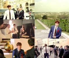 [27 Oct 2015 (Tuesday) Korea NEWS - Data   Actor Lee Min Ho CF : BTS : Italian Chocolate Brand Ferrero Roacher ]페레레로쉐 메이킹 필름 캡쳐 [ Time: 14:31:05 hours]