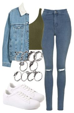 """Untitled #749"" by jakie-garita ❤ liked on Polyvore featuring Topshop, WearAll and emeraldgreen"