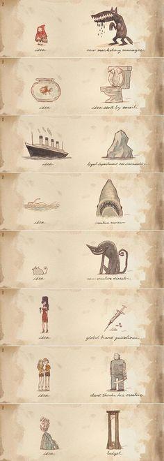 Scott C - Ideas, illustrative, funny