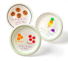Serve up a helping of math! Use plastic plates and Crayola Dry-Erase Crayons to practice math facts with your students. Primary Maths, Primary Classroom, Classroom Ideas, Center Rotations, Curriculum Planning, Math Practices, Reading Centers, Math Facts, Numeracy
