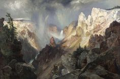 Mists in the Yellowstone - Artist Daily