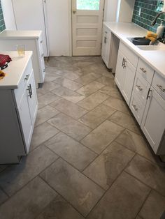 12 by 24 Tile Patterns. 12 by 24 Tile Patterns. Pictures Of Different Tile Patterns Bathroom Floor Tiles, Bathroom Wall Decor, Laying Tile Floor, Bathroom Ideas, Tile Layout, Floor Layout, Herringbone Marble Floor, Herringbone Pattern, Herringbone Backsplash