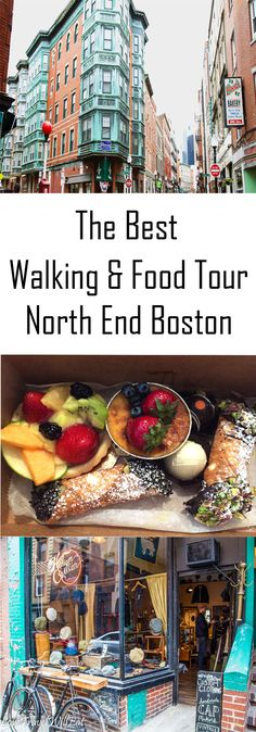 The Best Walking & Food Tour in Boston's North End Little Italy | Boston | Food Tour | Walking Tour | Guide | Travel Tips | What to do in | Family Activities