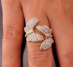 butterfly ring  #butterfly #kelebek #fly #papillon #Schmetterling #mariposa #farfalla