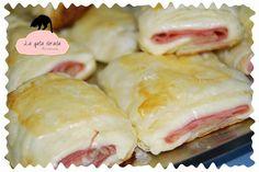 La gata dorada: Receta de Saladitos de Jamón york y queso / Recipe Ham and cheese Neapolitan
