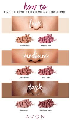 Not sure if you should go pink, red, or peach? This go-to guide will help you pick the right blush for your skin tone.