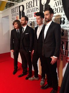 Brit awards :') they look so dapper