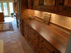 Bar Countertop Ideas | Rustic Style Wood Countertops, Table Tops and Bar Tops: Elmwood ...