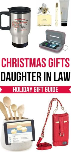 Great gift ideas for your daughter-in-law this Holiday season that she'll love and use! | Christmas Gifts for Women