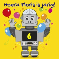 Kinderfeest Robot uitnodiging - Uitnodigingen - Kaartje2go. Kijk ook eens op www.debenegelfamilie.nl Lisa Simpson, Robot, Illustrations, Products, Illustration, Robots, Gadget, Illustrators