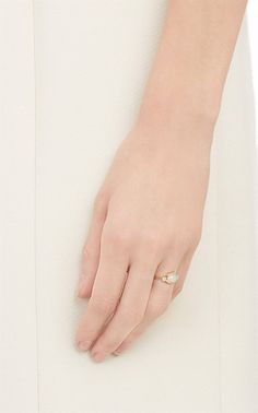 Jennie Kwon Diamond, Opal & Gold Ring - Solitaires - Barneys.com $630