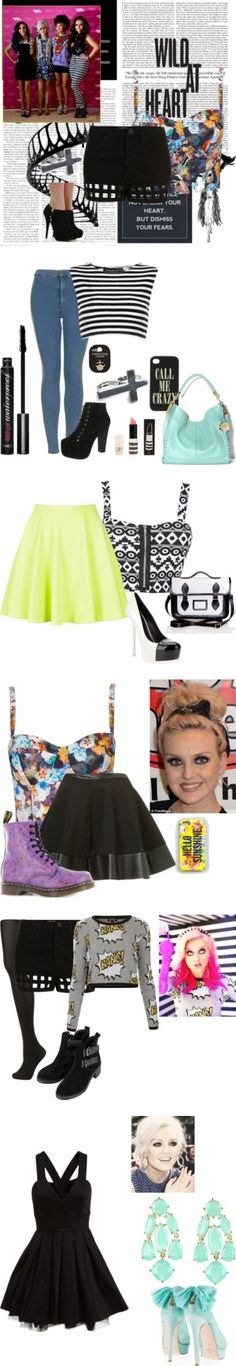 """""""perrie edwards style"""" by alatexas on Polyvore... i wish i could pull this off"""