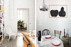 design attractor: Italy Meets Scandinavia - Apartment in Milan Milan Apartment, Bright Apartment, Japanese Home Decor, Asian Home Decor, Kitchen Breakfast Nooks, Interior Decorating, Interior Design, Interior Inspiration, Scandinavian