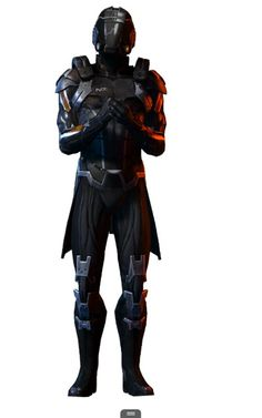 Im so excited! Love this character I just unlocked on Mass Effect 3 Multiplayer ~ N7 Slayer Vanguard