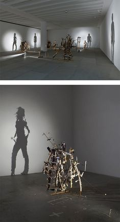 Shadow Art by Tim Noble and Sue Webster   Inspiration Grid   Design Inspiration