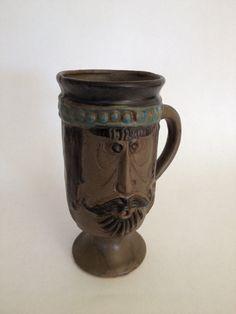Vintage Funk Pottery Pacific Stoneware Mug David Stewart Era