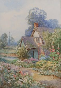 'Cottage Garden'- I am so sad that I will never see this dream come true.