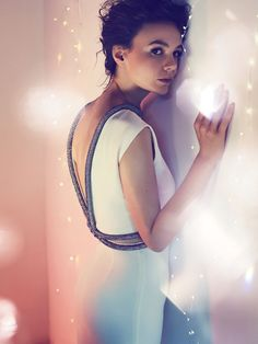Harpers Bazaar UK December 2014 | Carey Mulligan in GUCCI by Alexi Lubomirski