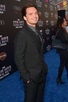 Sebastian Stan Photos: The World Premiere of Marvel's 'Captain America: Civil…