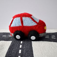 BUBBLE CAR TOY KNITTING PATTERNS
