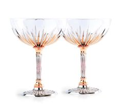 "757befd5157 The world s ""Most Expensive Champagne Glass"" are actually a pair and were  made by John Calleija"