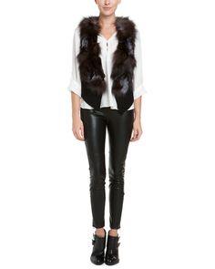 Spotted this Love Token Mae Black Wool-Blend Vest  on Rue La La. Shop (quickly!).