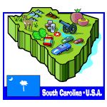 Learn about the state symbols of South Carolina and have fun learning while playing games!!
