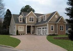 Stoneleigh Cottage - Home Plans and House Plans by Frank Betz Associates