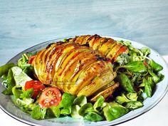 Cartofi acordeon cu dovlecei, rosii si cascaval | Retetele mele dragi Ratatouille, Food And Drink, Ethnic Recipes
