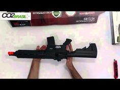 Fuzil Airsoft HK 416C 6mm