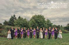 Wedding Party Photos  © Twin Shutterbug Studios