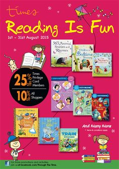 1-31 Aug 2015: Times Book Stores August Special Promotion