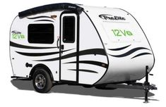 Roulottes ProLite 12V exterior Lightweight Camping Trailers, Small Camping Trailer, Small Trailer, Small Campers, Airstream Trailers For Sale, Teardrop Camping, R Pod, All Terrain Tyres, Bike Rack