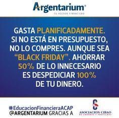 Planificación de gastos | Argentarium