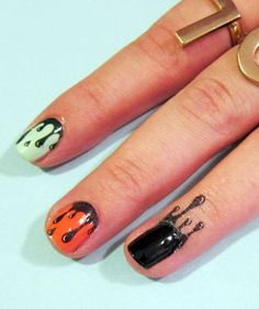 The surprisingly easy nail trend that's perfect for Halloween