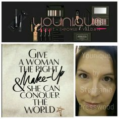 Younique has given me the confidence I  need to conquer my fears, and become an inspiration for other women.  Uplift, Empower, and Validate are not just words to me. They are my life!   For more inspirational quotes follow:  💜Younique by Stephanie Presswood💜