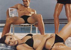 CK - Swimwear 1994 by steven meisel Ck Swimwear, Candy Models, Calvin Klein Swimwear, Advertising Archives, Steven Meisel, Hot Shots, Kate Moss, Bikini Models, Federal